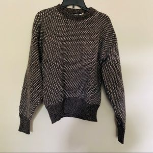 Vintage Castle Square Wool Sweater